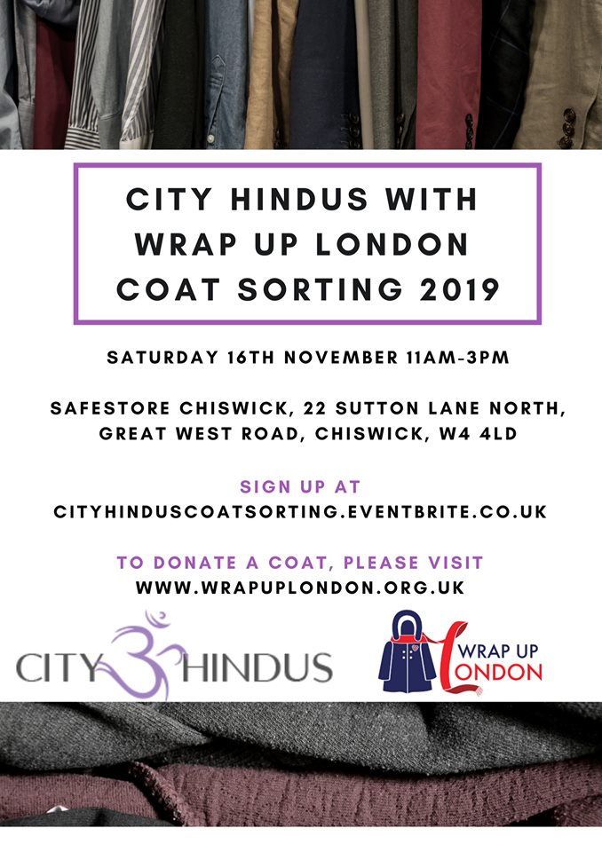 Wrap London Coats Sorting Sewa