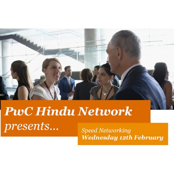 PwC Hindu Network Speed Networking